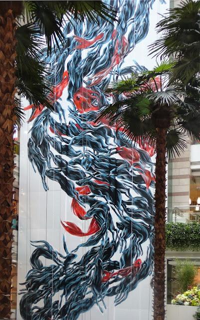 """""""Long Ma Jinjsxiu"""" Street Art By Pantonio Somewhere In Guangzhou, China. 5"""