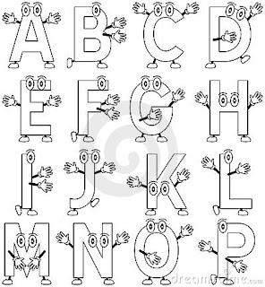 cursive writing alphabet poster classroom