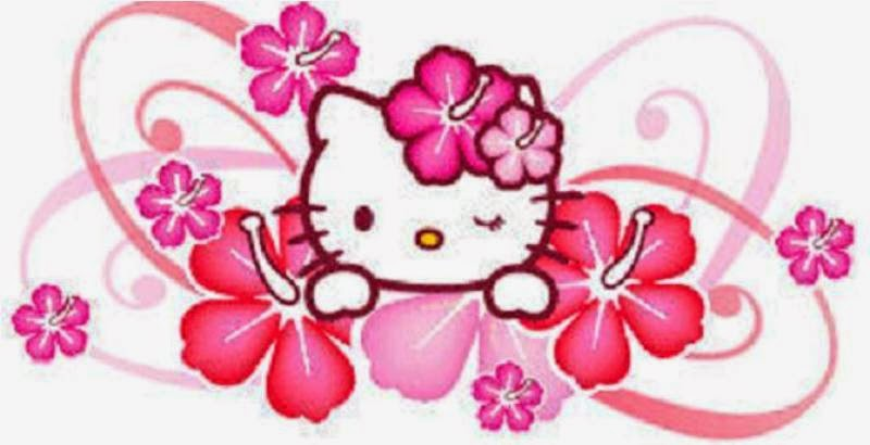 Gambar hello kitty pink wallpaper
