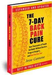 7 Day Back Pain Cure Free Book