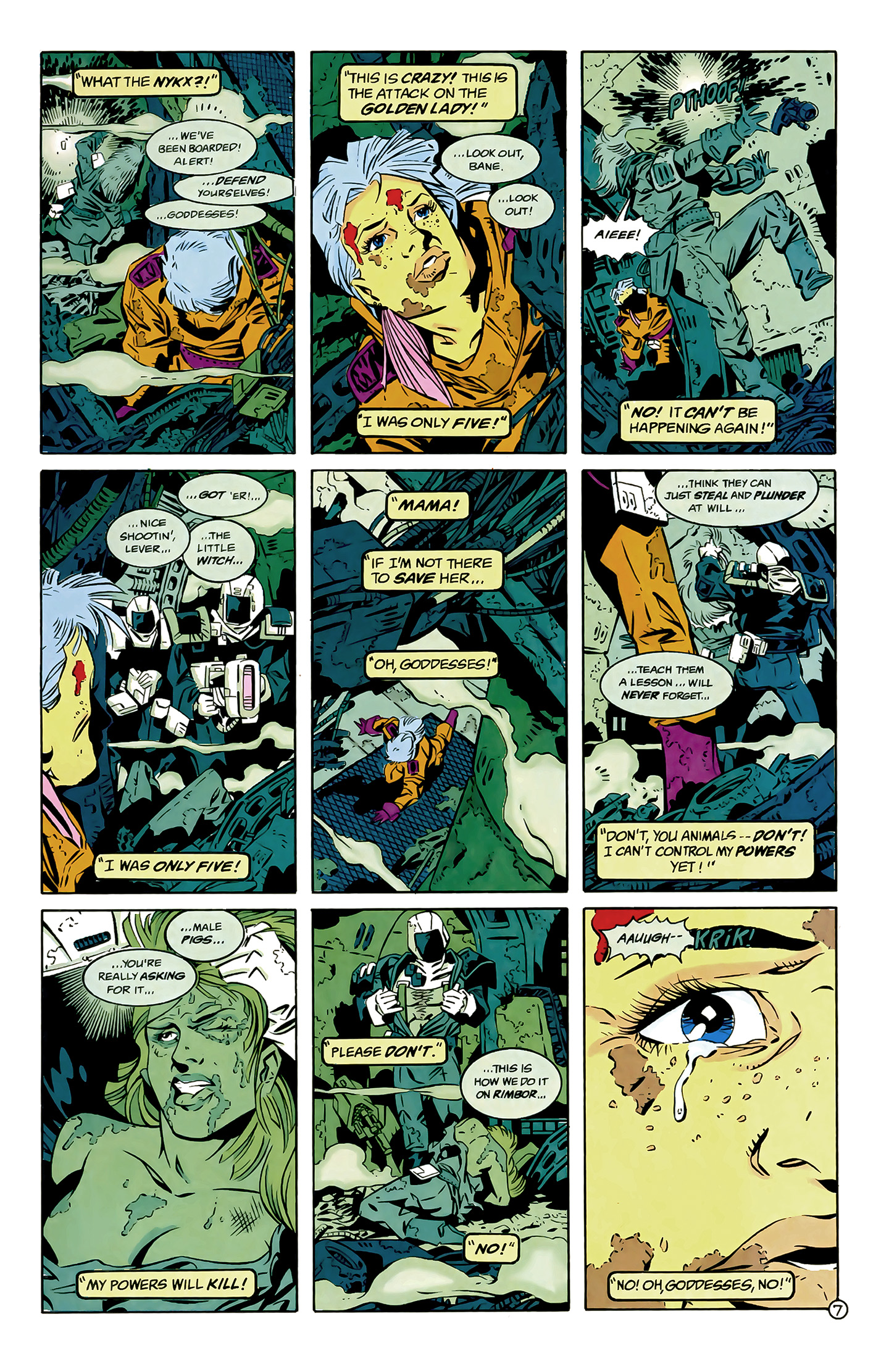 Legion of Super-Heroes (1989) 6 Page 7