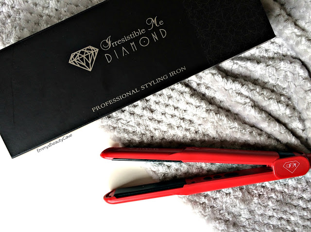 Irresistible Me Diamond Flat Iron review, hair straighteners, GHD alternative