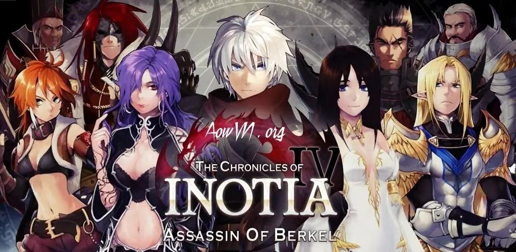 AowVN Inotia - [ RPG ] Inotia 3 & 4 : Assasin of Berkel | Game offline cực hay cho Android IOS