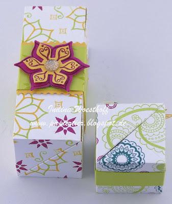 Orientpalast | papiertier Indina | Stampin' Up! 2017/18 | Anleitung | Verpackung