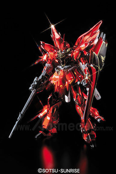 Model Kit Sinanju MSN-06S Ver.Ka Titanium Finish Master Grade (MG) 1/100 Gundam Unicorn