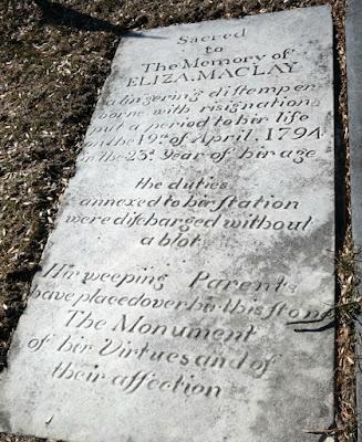 Eliza Maclay Grave and Memorial Marker in Harrisburg, Pennsylvania