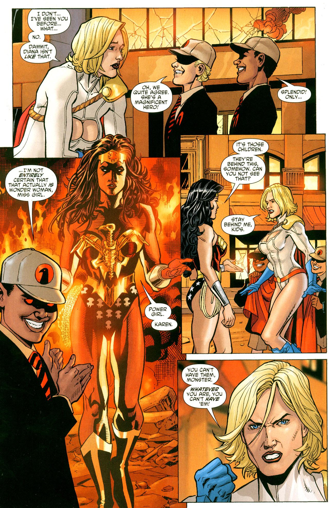 Read online Wonder Woman (2006) comic -  Issue #41 - 11