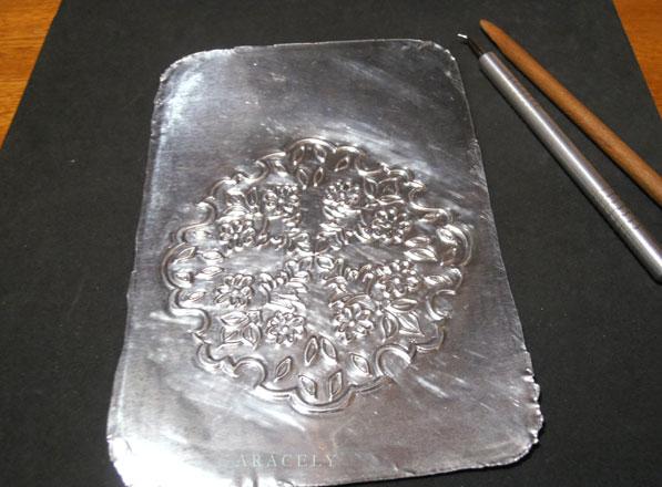 repujado aluminio