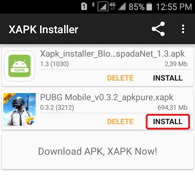 Cara Install PUBG Mobile (Global) di Android 3