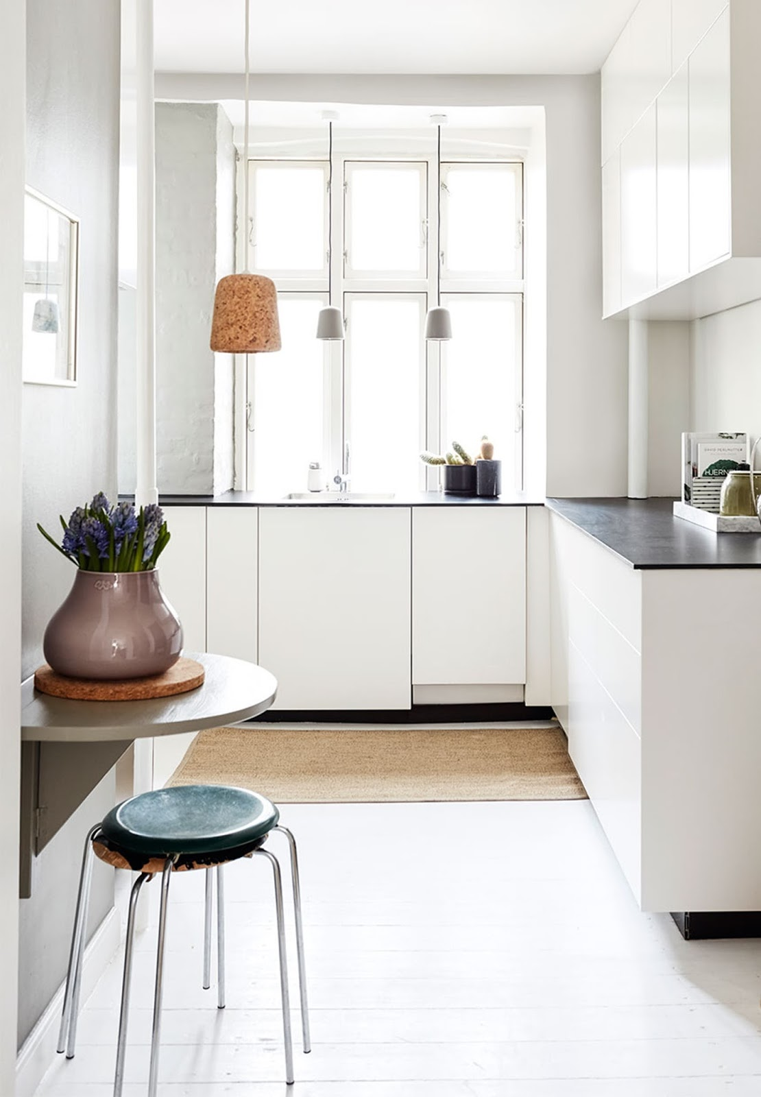 minimalist kitchen decor, danish design interior