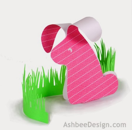 Use Print Paper With A White Backing To Give A Contrast To The Design The Cutting File Includes The Grass Accent File As Well As The Bunny In Three Sizes