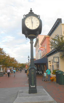 Cape May Town Clock in Cape May New Jersey