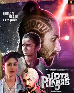 Poster Of Bollywood Movie Udta Punjab (2016) 100MB Compressed Small Size Mobile Movie Free Download worldfree4u.com