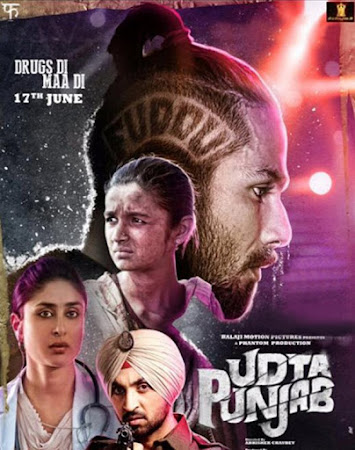 Poster Of Hindi Movie Udta Punjab 2016 Full HD Movie Free Download 720P Watch Online