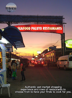 Seaside Dampa entrance sign in Macapagal Boulevard