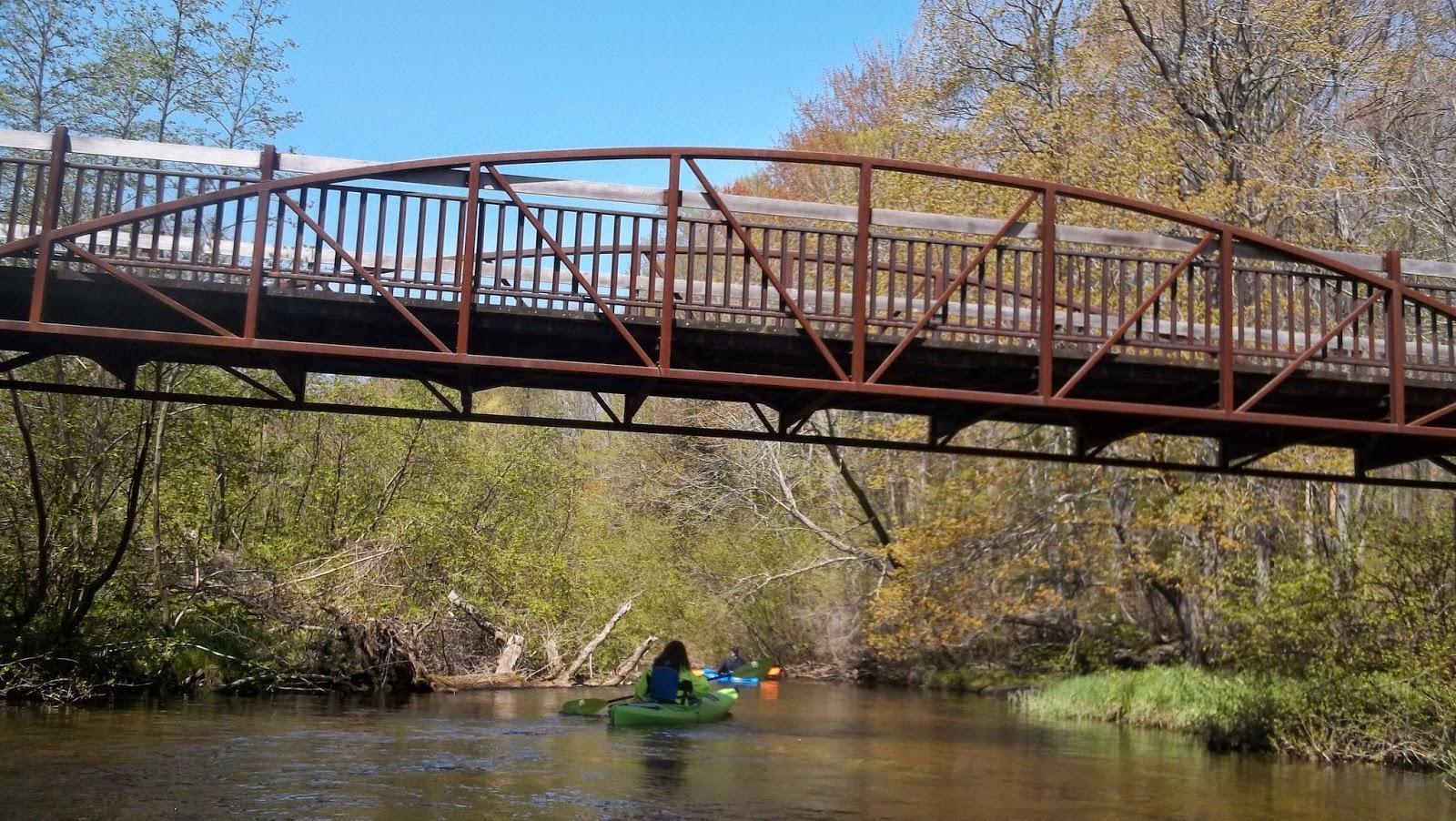 Kayaking Michigan Rivers: Pigeon River May 17, 2014