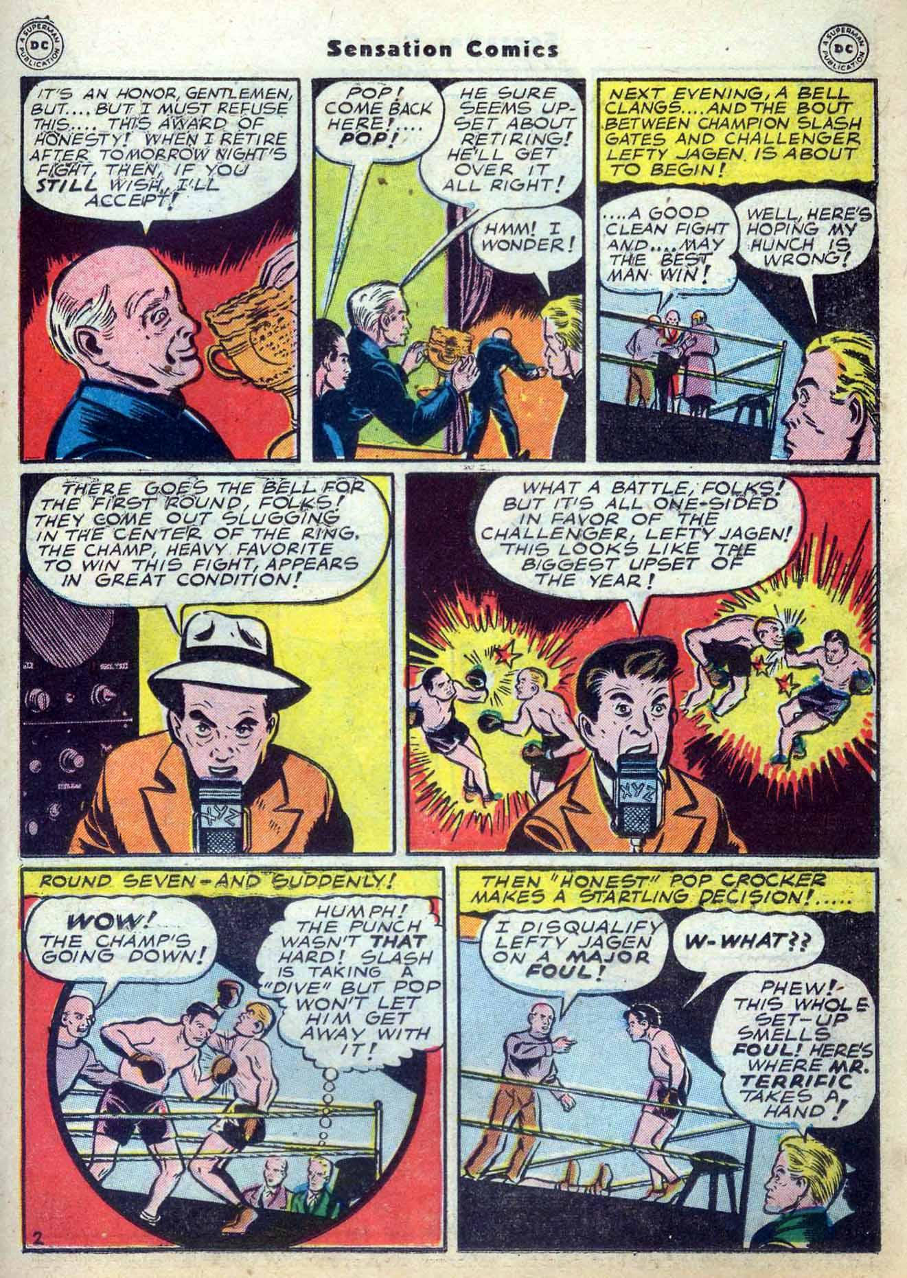 Read online Sensation (Mystery) Comics comic -  Issue #59 - 33