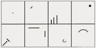 Bentuk simbol belum jadi gambar tes wartegg