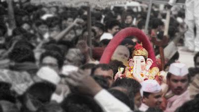 सार्वजनिक गणेशोत्सव - काल आणि आज - मराठी लेख | Sarvajanik Ganeshotsav Kaal Aani Aaj - Marathi Article