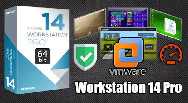 تحميل برنامج VMWare Workstation Pro 14 + التفعيل