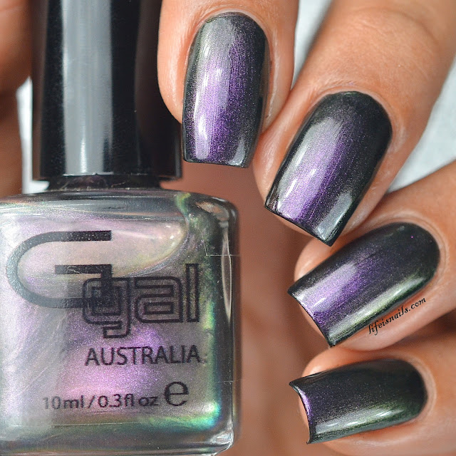 Glitter Gal Contorted Mauve