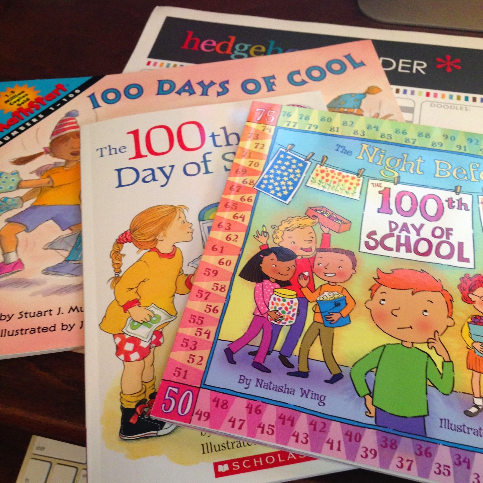100th Day of School - picture books + activities + STEM + STEAM