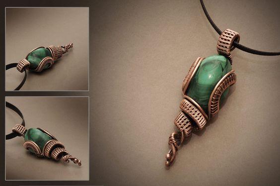 biżuteria z miedzi diy
