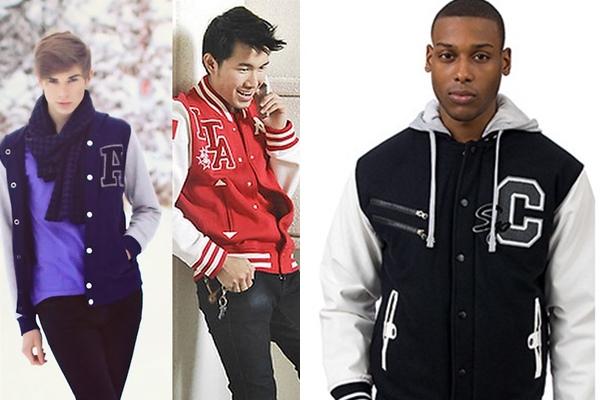 0d9e77ae83b20 Moda masculina  Jaqueta Varsity - Novidades Daily - Música