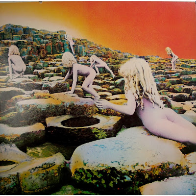 Led Zeppelin Houses of the Holy album cover 1973
