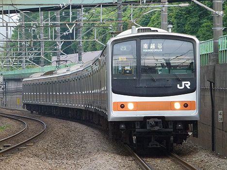武蔵野線 南越谷行き 205系5000番台(東京競馬臨)