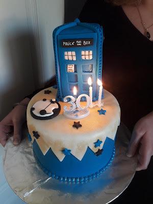 gâteau tardis