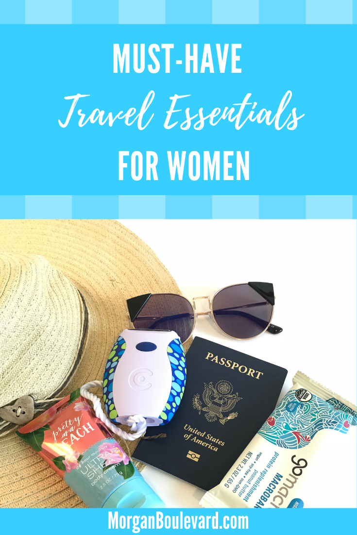 Travel essentials for women