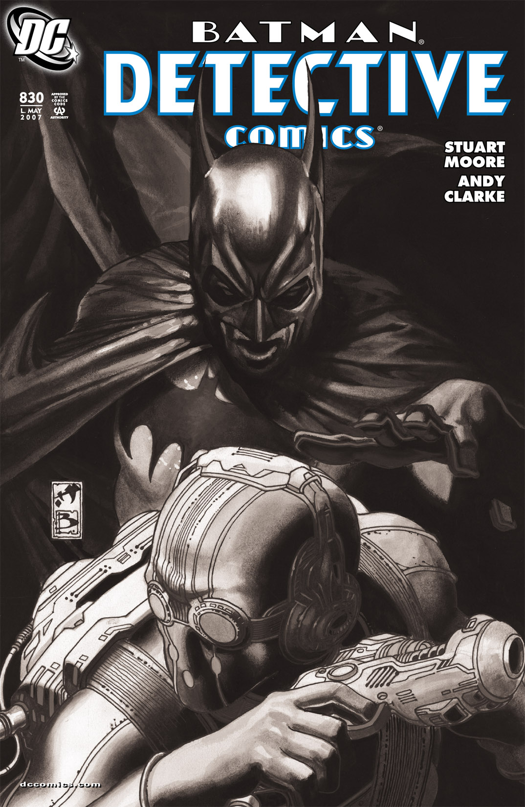 Detective Comics (1937) 830 Page 0