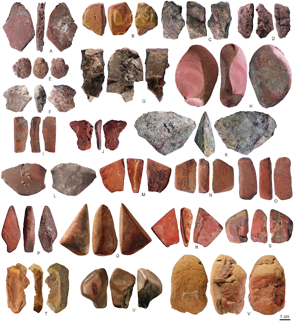 Analyses of 40,000 year old ochre finds in Ethiopia's Porc-Epic Cave point to symbolic use