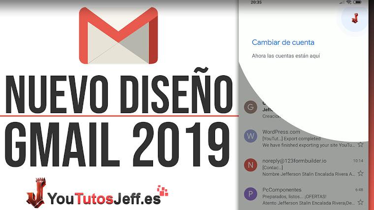 Descarga Nuevo Diseño Gmail para ANDROID