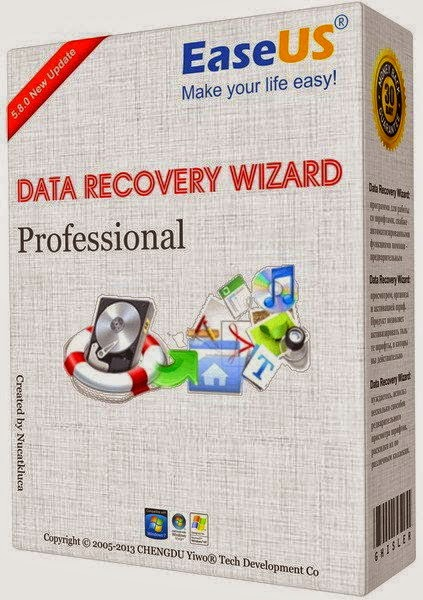 EaseUS Data Recovery Wizard Professional 7.5 2019 Free Download With Crack