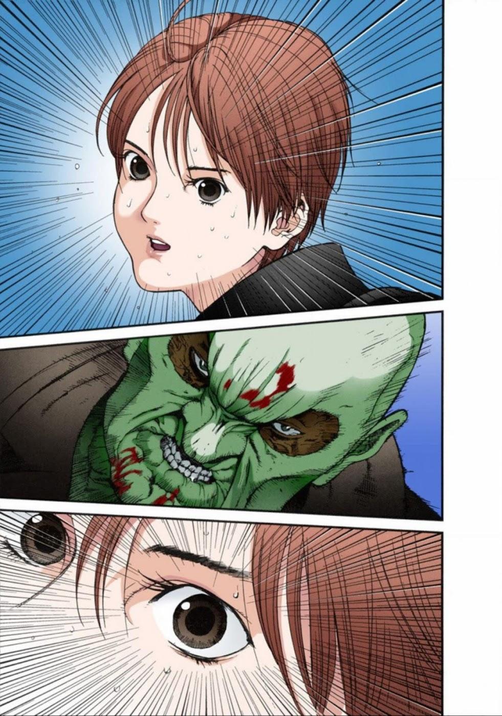Gantz Chap 13: Đôi mắt trang 17