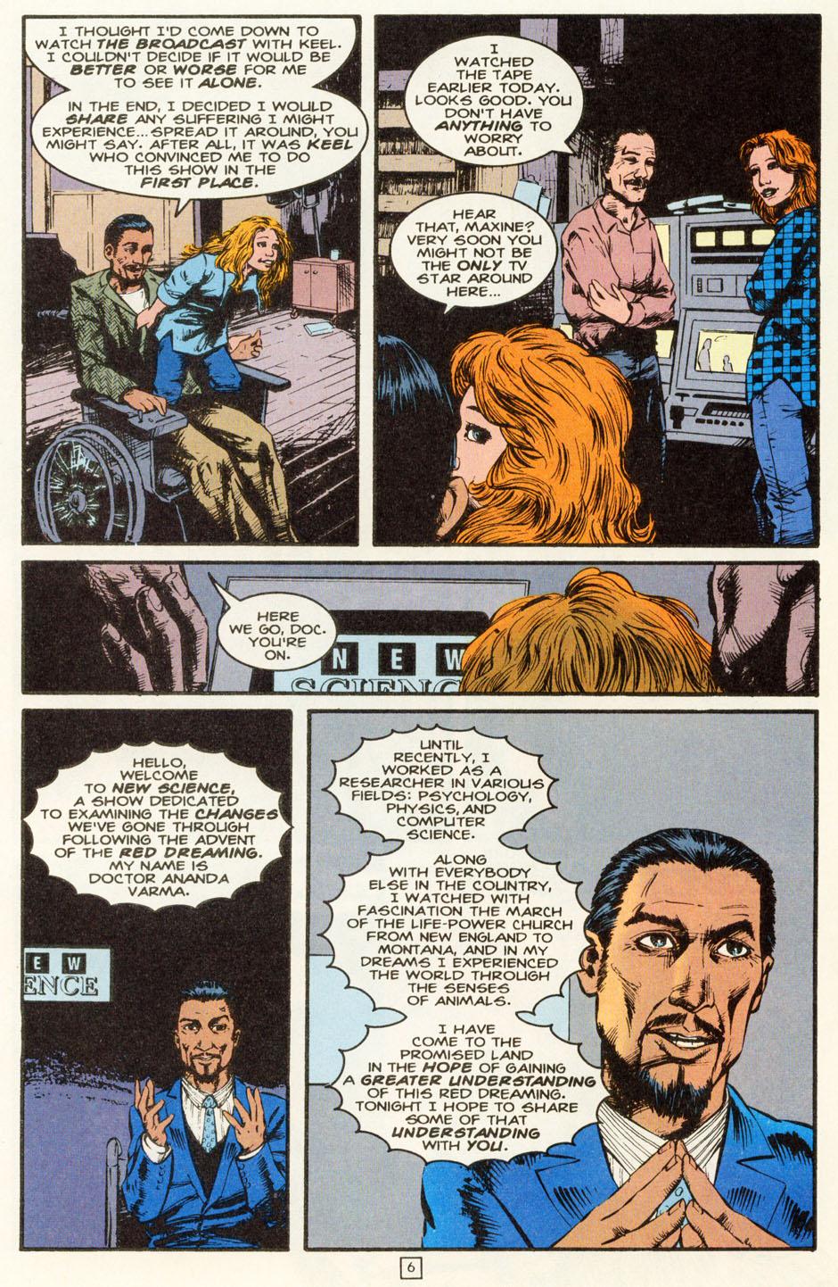 Read online Animal Man (1988) comic -  Issue #81 - 7