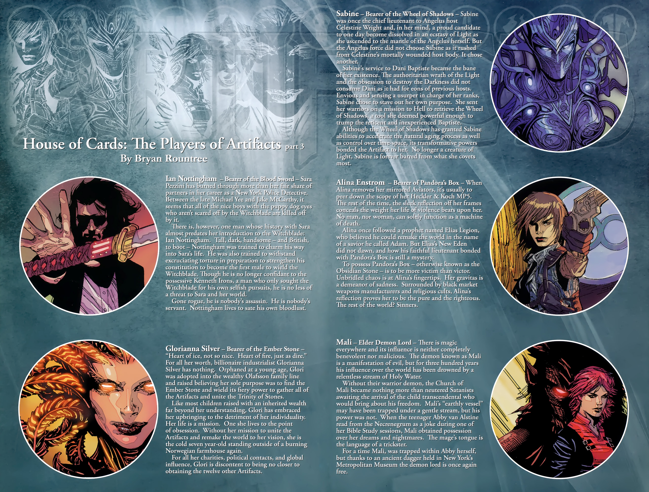 Read online Artifacts comic -  Issue #3 - 25