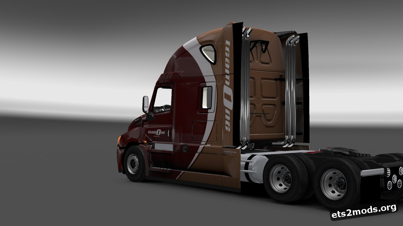 Team One Logistics Skin for Freightliner Cascadia