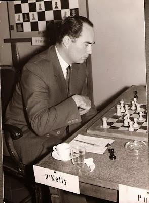 Partida O'Kelly - Puig en el Torneo Internacional de Ajedrez Tarragona 1957
