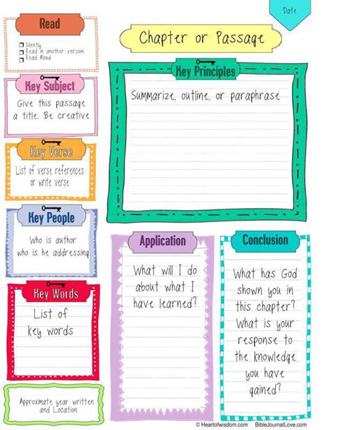Budget Friendly Homeschooling Free Bible Notebooking Pages