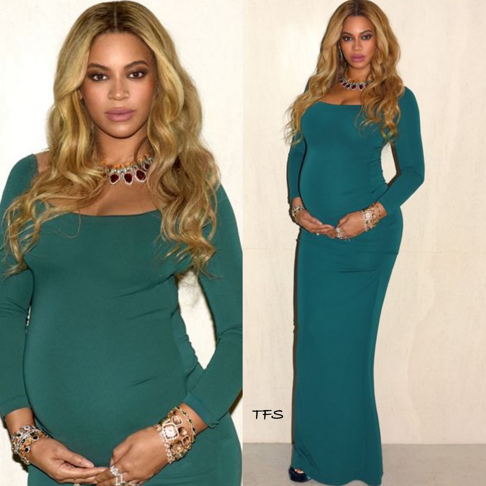 Tumblr Style: Beyonce in Nicole Miller
