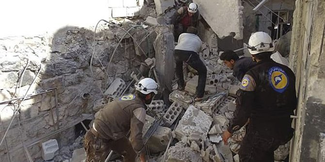 Serangan Udara Hantam Sekolah di Suriah, 14 Anak Tewas