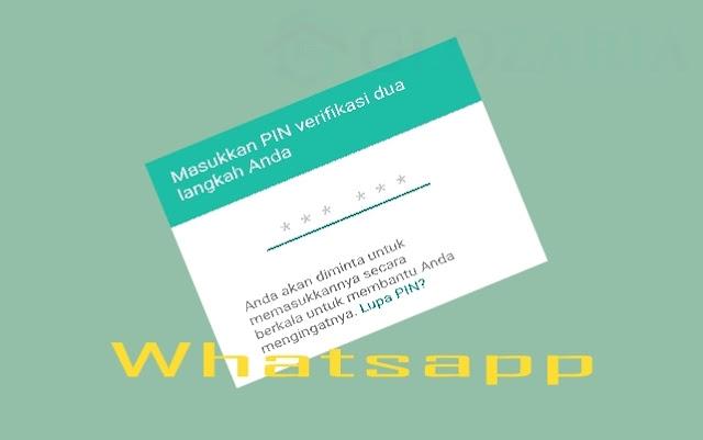 Amankan Privasi Whatsapp Dengan Mengaktifkan Verifikasi 2 Langkah WA , Simak Caranya !