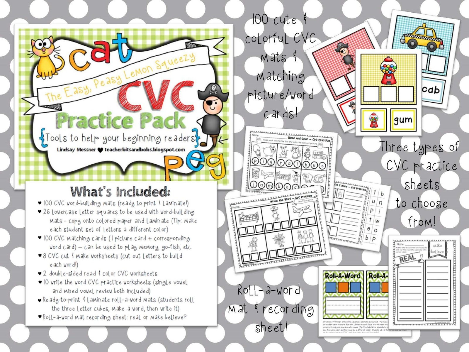 Teacher Bits And Bobs Easy Peasy Lemon Squeezy Cvc Practice Pack And A Random Little