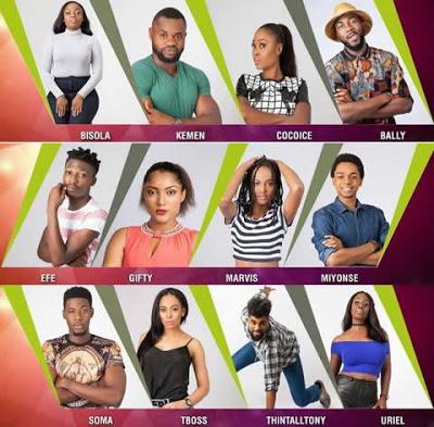 Meet The 2017 Big Brother Naija Housemates