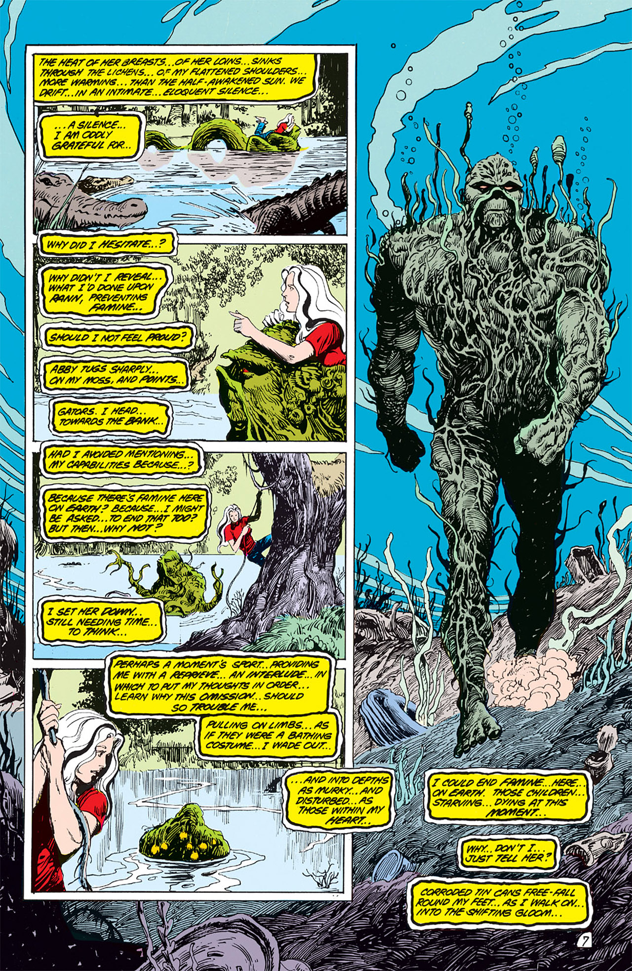 Swamp Thing (1982) Issue #64 #72 - English 8
