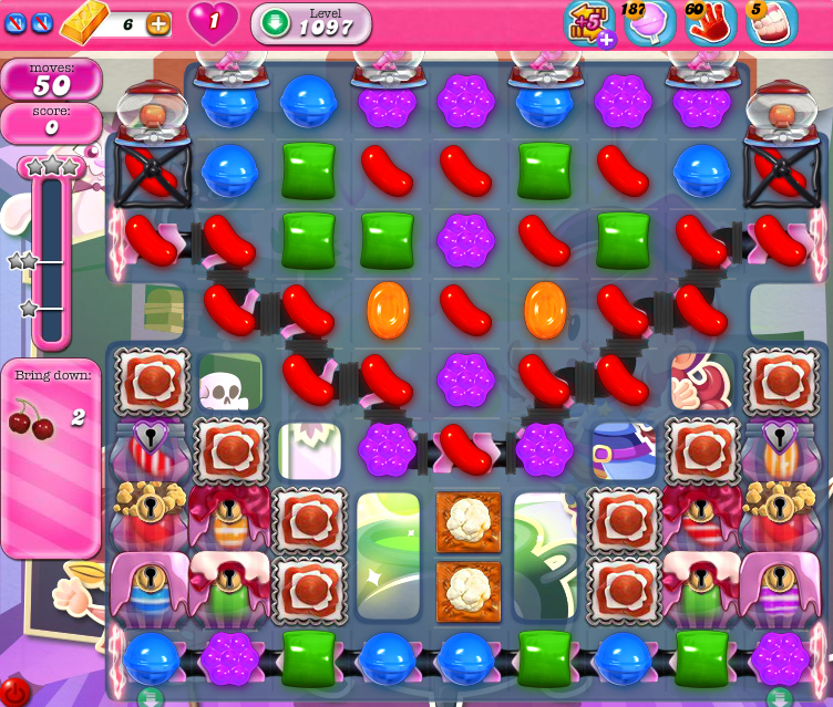 Candy Crush Saga 1097