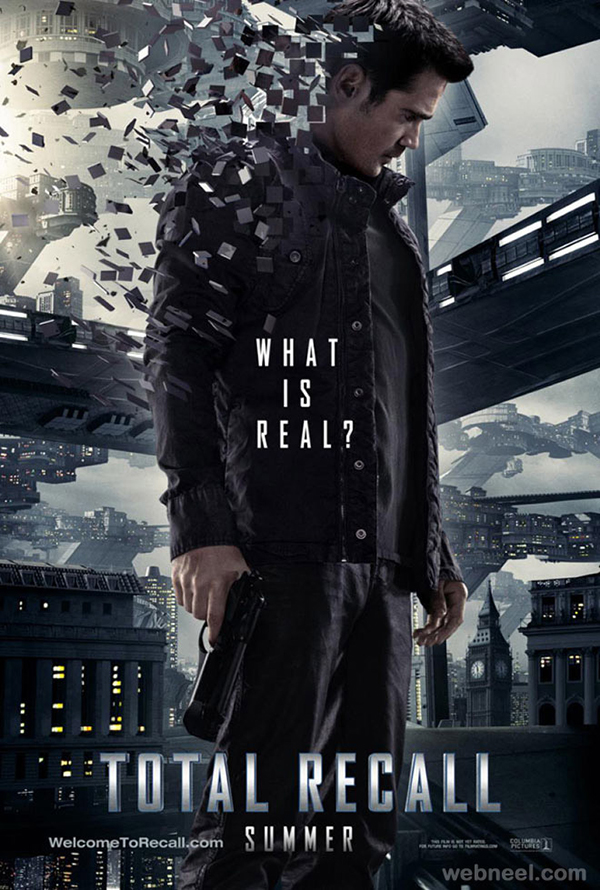 total-recall-creative-movie-poster-design